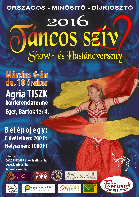 Táncos Szív Show- és Hastáncverseny Eger 2016